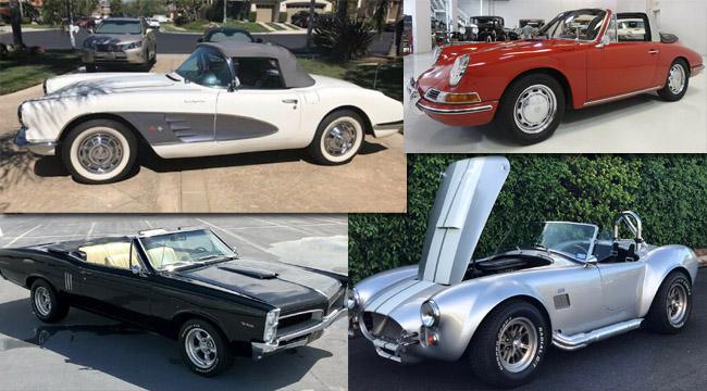 best vintage convertibles for sale online this week
