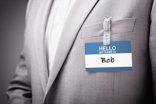 boring name CEO