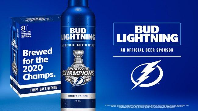Bud Lightning beer Bud Light
