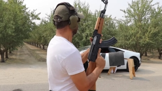 Can A 'Bulletproof Lamborghini' Really Stop An AK47? There's Only One Way To Find Out