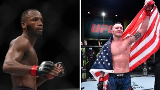 UFC's Colby Covington Says He Beat Tyron Woodley Because He Stands For 'Black Lives Matter', Gets Called A 'Racist Scumbag' By Leon Edwards