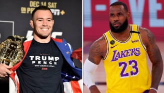 NBA Fans Accuse UFC's Colby Covington Of Secretly Being A Fan Of LeBron James After Digging Up Old Tweet Of Him Praising LeBron