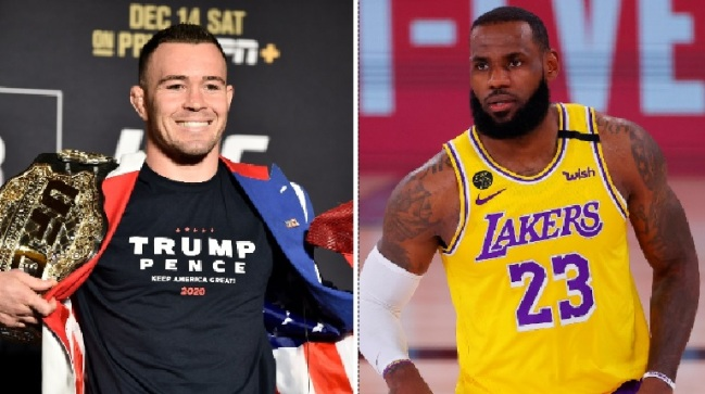 UFC's Colby Covington Says LeBron James Wouldn't Last 10 Seconds With Him In A Fight, Brings Up Delonte West's Rumored Affair With LeBron's Mom
