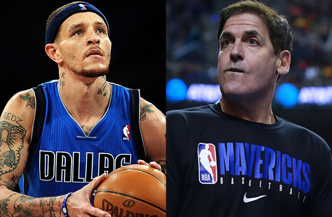 Delonte West Has Checked Into Rehab After Mark Cuban Tracked Him Down To Get Him The Help He Needs