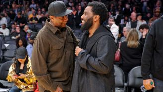 Denzel Washington Gets Touchingly Choked Up After Hearing Praise From His Son