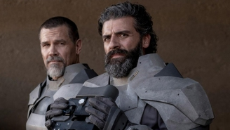 Oscar Isaac Simply Cannot Comprehend The Size Of Josh Brolin's Preposterous Dome Piece