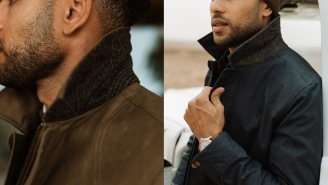 The Flint And Tinder Flannel-Lined Waxed Hudson Jacket Is Exactly What Your Closet's Been Missing
