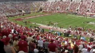 People Are Not Happy Florida State Fans Are Packed Together In Stadium Without Practicing Social Distancing