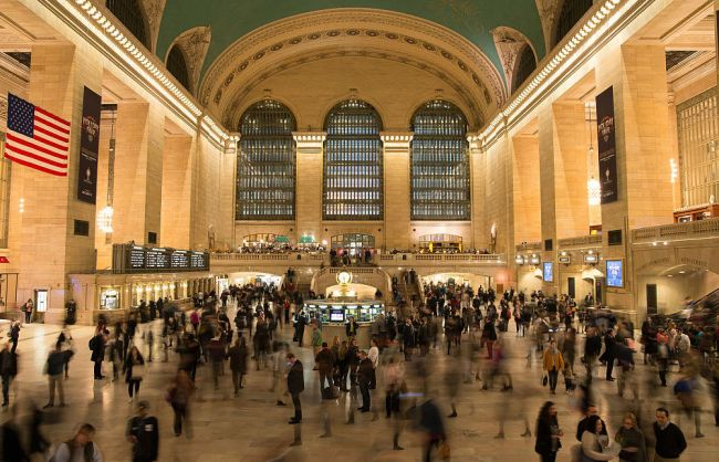 grand central employee man cave discovered