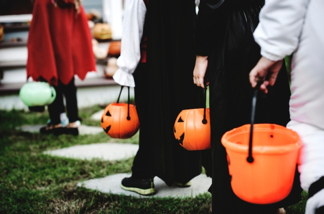 halloween social distancing idea