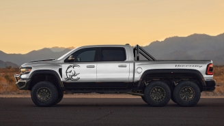 Rampage Wherever You Damn Well Want In Hennessey's 1,200-HP Hellephant-Powered Mammoth 6×6 Truck