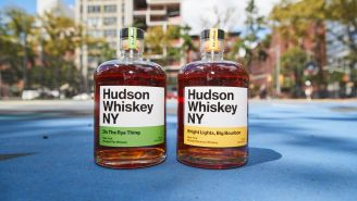 Hudson Whiskey Launches Their First New Whiskey In Seven Years –  A Straight Rye Finished In Peated Scotch Barrels