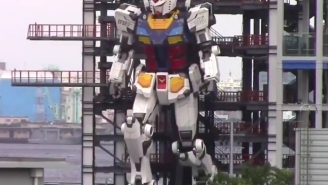 A Japanese Company Has Unveiled A Giant Walking Robot That's Straight Out Of 'Power Rangers'