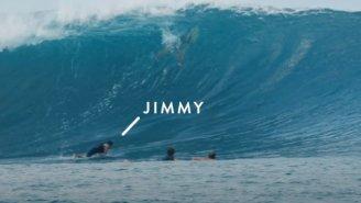 Watch – 'Free Solo' Director Jimmy Chin Gets 'Barreled' Surfing In Fiji
