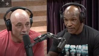 Mike Tyson Tells Joe Rogan He Thinks Human Beings Are 'Descendants Of Aliens'