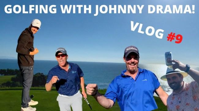 johnny drama golf brilliantly dumb show