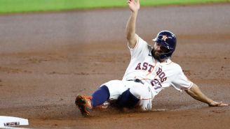 Jose Altuve Was Knocked Out Of A Game Following A Nuts-First Slide Into Base And Proved Karma Is Very, Very Real