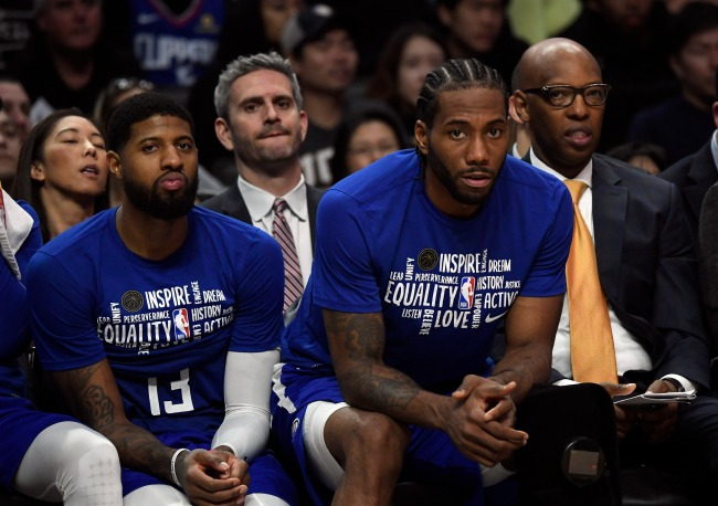Kawhi Leonard's trainer, Clint Parks, slams Clipper teammates Paul George and Montrezl Harrell in a series of tweets