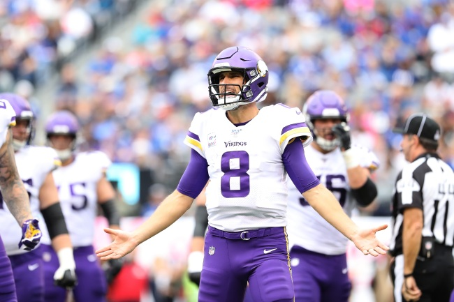 Vikings quarterback Kirk Cousins immediately regrets and apologizes for his controversial comments about COVID-19