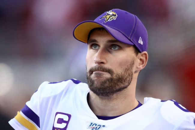 kirk cousins fine with dying covid