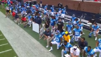 Fans Booed As Florida And Ole Miss Players Took A Knee On The Field For 'Moment Of Unity' Before Game