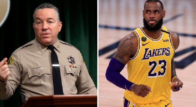 LA County Sheriff Publicly Challenges LeBron James To Match Reward Money To Catch Compton Police Shooter