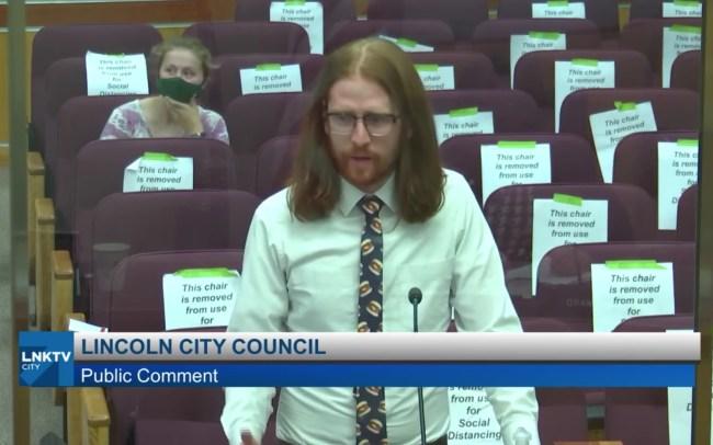 Lincoln Nebraska City Council Speech to rename boneless chicken wings