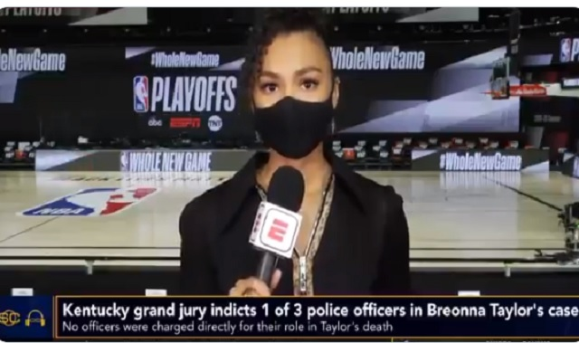 ESPN's Malika Andrews Fights Back Tears While Talking About Breonna Taylor 'She Was 26, I'm 25 And That Could Have Been Me'
