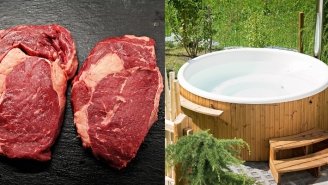 Police Need Your Help Tracking Down Brazen Criminal Who Stole 7 Hot Tubs And $230,000 In Meat