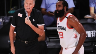 Wild Report Claims The 76ers May Hire Mike D'Antoni As Ammo To Lure James Harden To Philly