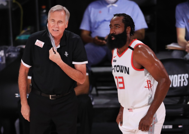 One rumor suggests the 76ers could hire Mike D'Antoni to try and help lure James Harden to Philly in the future