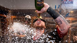MLB Teams Will Reportedly Be Banned From Breaking Out The Champagne To Celebrate Postseason Wins Over Safety Concerns