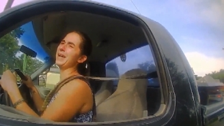 Woman Gets Pulled Over. Tells Cops: 'I Have To Poop So Bad.' Leads Police On High-Speed Chase. Gets Arrested.