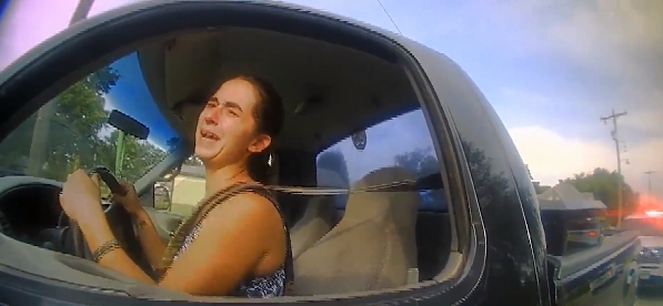 """Oklahoma woman pulled over tells police officers that she has to """"poop so bad,"""" takes cops on high-speed chase, gets arrested."""