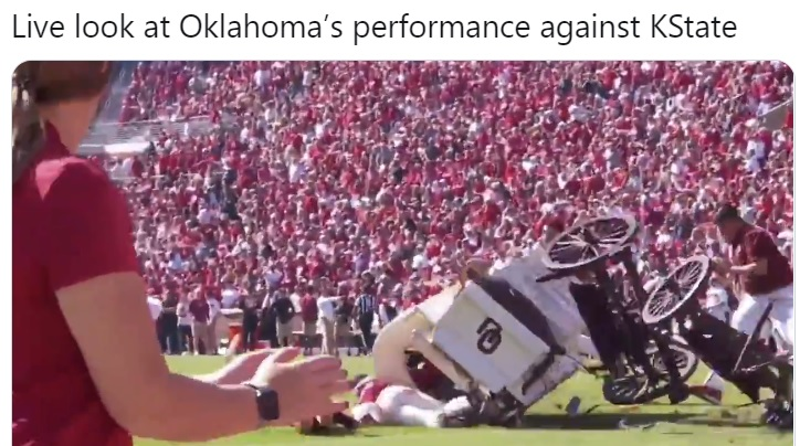 The Internet Mocks Third Ranked Oklahoma After They Lost ...