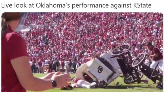 The Internet Mocks Third Ranked Oklahoma After They Lost To Unranked Kansas State In Huge Upset