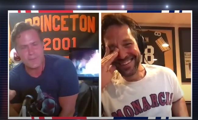 Paul Rudd tells Will Ferrell story Anchorman 2