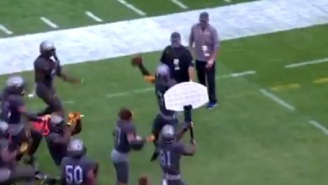 Pitt's Turnover Dunk Celebration Is The Best Thing In College Football Right Now