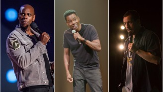 Chris Rock Is Writing A Movie That Will Star Him, Dave Chappelle, And Adam Sandler