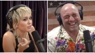 Miley Cyrus Blasting Joe Rogan's Show To His Face Was Good Fun