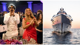 This $2 Million A Week Floating Mansion Jay-Z And Beyonce Are Sailing Around Europe Dwarfs An NFL Football Field