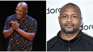 Training Video Of Mike Tyson Nearly Knocking Out His Trainer Emerges A Day After Roy Jones Jr. Admitted Fighting Tyson May Be A 'Mistake'