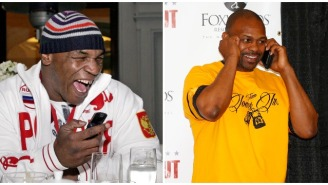 Imagining The Text Exchange Between Mike Tyson And Roy Jones Jr. Leading Up To Their November Fight