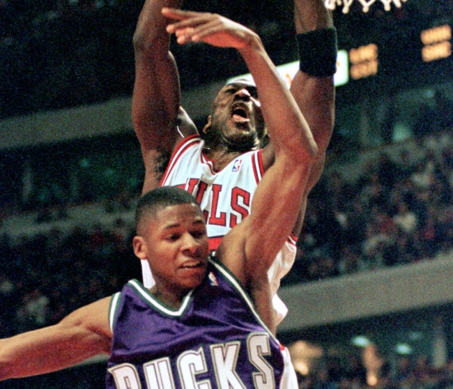 Ray Allen Described The Serious Fear He Had When Going Up Against Michael Jordan For The First Time