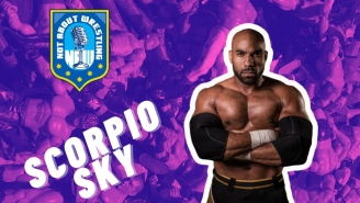 AEW Star Scorpio Sky Has Never Seen 'Star Wars', Doesn't Like Cereal, And Can't Believe The Stuff That's On His Wikipedia Page