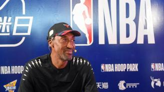 Scottie Pippen Torches The NBA Bubble, Claiming Contests Are Nothing But Glorified Pickup Games
