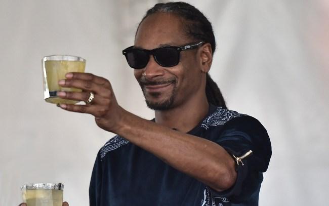 snoop dogg releasing gin INDOGGO
