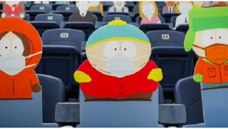 The Denver Broncos Filled The Stadium With Cardboard Cutouts Of South Park Characters
