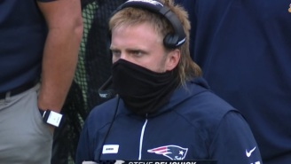 The Internet Reacts To Steve Belichick's Glorious Mullet During SNF's Seahawks Patriots Game