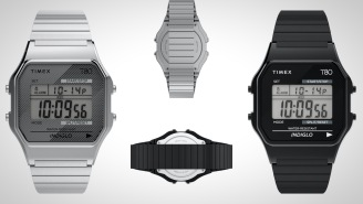 This Retro '80s Inspired 'Timex 80' Watch Is A Steal At Only $59
